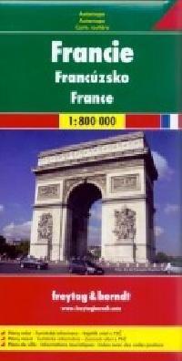 Francie - automapa cena od 159 Kč