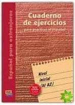 Cuaderno de ejercicios - Inicial (A1-A2) cena od 399 Kč
