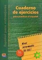 Cuaderno de ejercicios - Intermedio (B1-B2) cena od 399 Kč
