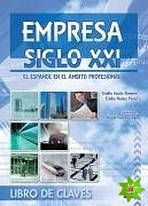 Empresa Siglo XXI - Libro del Claves cena od 278 Kč