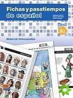 Fichas y pasatiempos de espanol - Nivel A1 cena od 832 Kč
