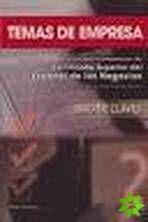 Temas de empresa - Libro de claves cena od 278 Kč