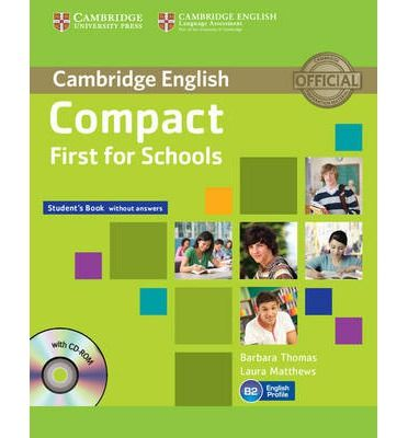 Compact First for Schools - Student's Book without answers with CD-ROM cena od 302 Kč