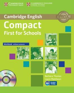 Compact First for Schools - Workbook without answers with Audio CD cena od 0 Kč