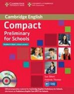 Compact Preliminary for Schools - Student's Pack (Student's Book without answers with CD-R cena od 525 Kč