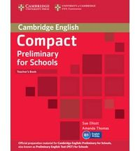 Compact Preliminary for Schools - Teacher's Book cena od 428 Kč