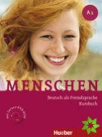 Menschen A1 - Kursbuch mit DVD-ROM cena od 300 Kč
