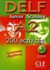 DELF Junior scolaire - A2 Livre + corrigés + transcipt. cena od 279 Kč