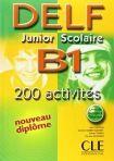 DELF Junior scolaire - B1 Livre + corrigés + transcipt. cena od 294 Kč