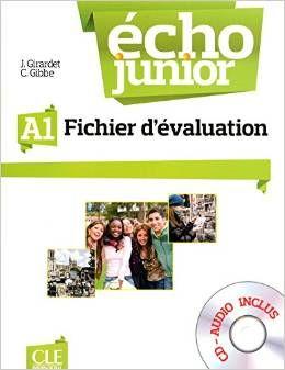 Écho Junior - A1 Fichier d'évaluation + CD audio cena od 606 Kč