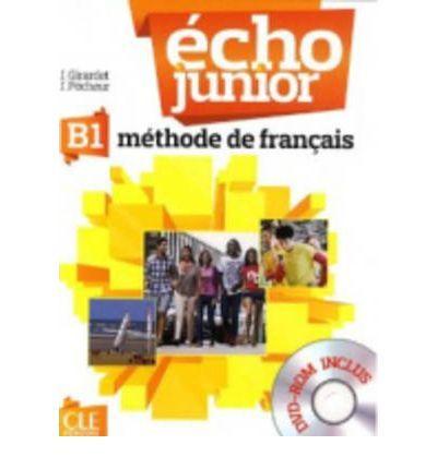 Écho Junior - B1 Livre de l'éleve + DVD-ROM cena od 388 Kč