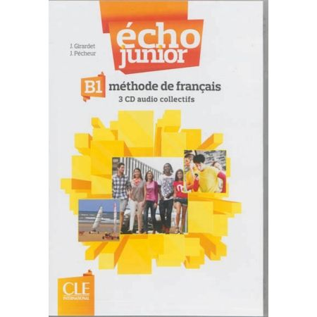 Écho Junior - B1 CD audio collectifs (2) cena od 1 288 Kč
