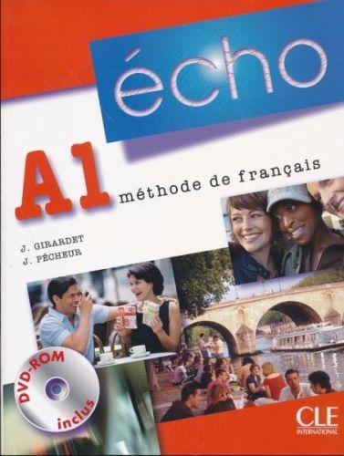 Écho Nouvelle version - A1 Livre de l'éleve + portfolio + DVD-ROM cena od 408 Kč