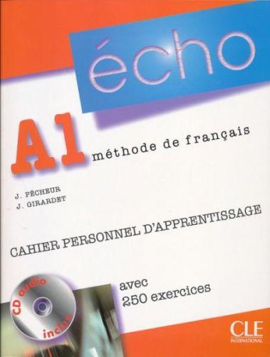 Écho Nouvelle version - A1 Cahier personnel d'apprentissage + CD audio + corrigés cena od 236 Kč