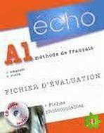 Écho Nouvelle version - A1 Fichier d'évaluation photocopiable + CD audio cena od 668 Kč