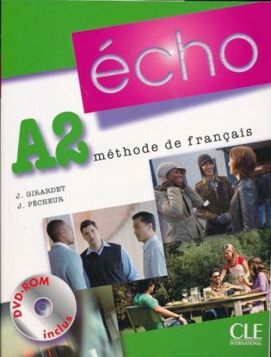 Écho Nouvelle version - A2 Livre de l'éleve + portfolio + DVD-ROM cena od 309 Kč