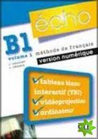 Écho Nouvelle version - B1.1 Ressources numérique pour TBI cena od 1288 Kč