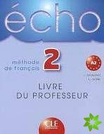 Écho - 2 Guide pédagogique cena od 364 Kč