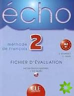 Écho - 2 Fichier d'évaluation photocopiable + CD audio cena od 596 Kč