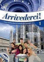 Arrivederci 1 - Libro dello studente ed esercizi + CD cena od 362 Kč