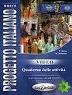Nuovo Progetto italiano 1 - Video – Quaderno delle attivitá cena od 208 Kč