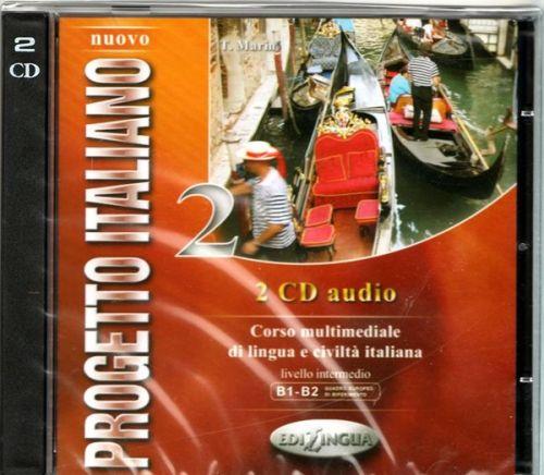 Nuovo Progetto italiano 2 - CD Audio cena od 264 Kč