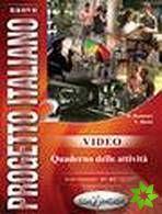 Nuovo Progetto italiano 2 - Video – Quaderno delle attivitá cena od 208 Kč