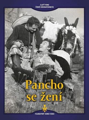 Pancho se žení - DVD (digipack) cena od 73 Kč