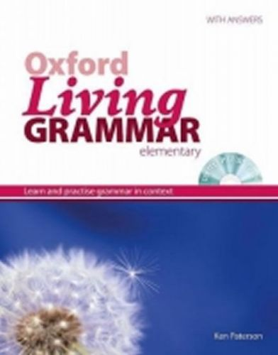 Paterson K.: Oxford Living Grammar Upper Intermediate With Key + Cd-Rom Pack New Edition cena od 270 Kč