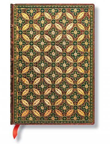 Zápisník - Mosaique Safran Midi 130x180 Lined cena od 342 Kč
