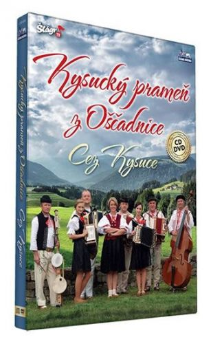 Kysucký prameň z Oščadnice - Cez Kysuce - CD+DVD cena od 274 Kč