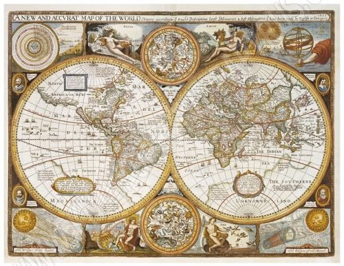 Nástěnná mapa - Antický svět - lamino cena od 490 Kč