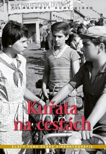 Vorlíček Václav: Kuřata na cestách - DVD box cena od 132 Kč