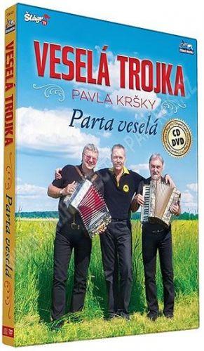 Veselá trojka – Parta veselá - CD+DVD