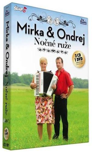 Mirka a Ondrej - Nočné ruže - CD+DVD cena od 314 Kč