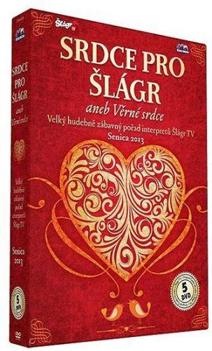 Senica - Srdce pro Šlágr - 5 DVD cena od 436 Kč