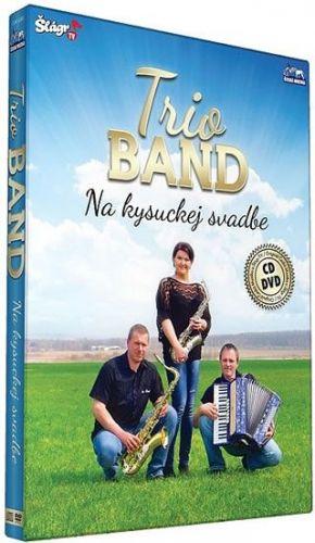 Trio Band - Na kysuckej svatbe - CD+DVD cena od 196 Kč
