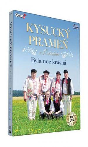 Kysucký prameň - Byla krásná noc - CD+DVD cena od 297 Kč