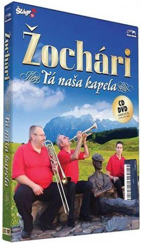 Žochári -Tá naša kapela - CD+DVD cena od 196 Kč