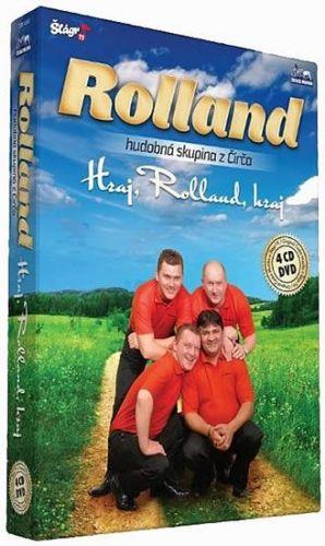Rolland - Hraj,Rolland,hraj - 4CD+1DVD cena od 436 Kč