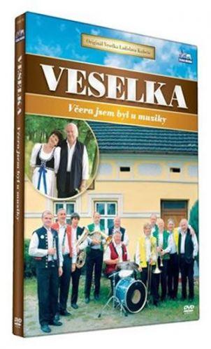 Veselka - Včera jsem byl u muziky - DVD cena od 125 Kč