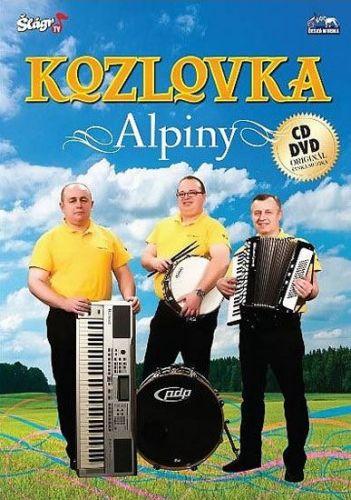 Kozlovka - Alpiny - CD+DVD cena od 235 Kč