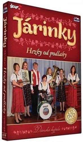 Járinky - Hezky od podlahy - CD+DVD cena od 235 Kč
