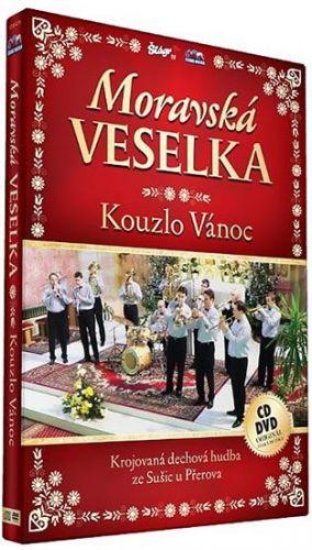 Moravská Veselka - Kouzlo Vánoc - CD+DVD cena od 196 Kč