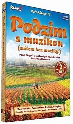 Podzim s muzikou – Petrov 2012 - 2 DVD cena od 235 Kč