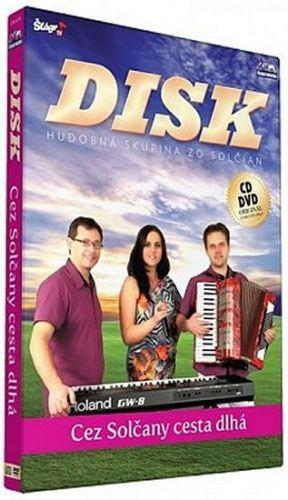 Disk - Cez Solčany cesta dlha - CD+DVD cena od 235 Kč