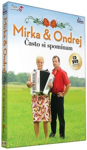 Mirka a Ondrej - Často si spominam - CD+DVD cena od 235 Kč