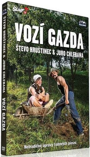 Hrušinec a Chlebana - Vozí gazda - DVD cena od 139 Kč