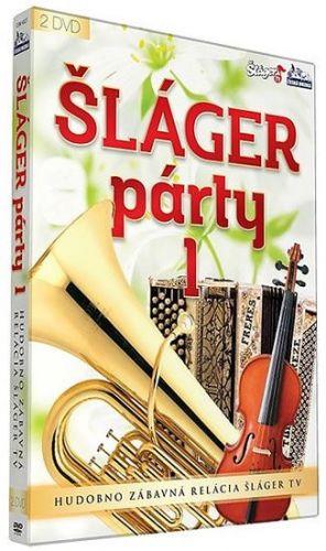 Šlágr párty 1.díl - 2 DVD cena od 235 Kč