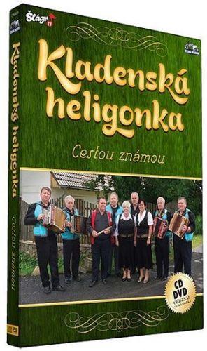 Kladenská Heligonka - Cestou známou - CD+DVD cena od 269 Kč